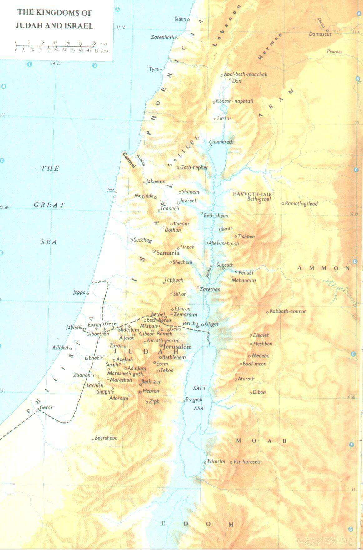 Bible Maps & Times with 24 photos on bible maps old testament, map of israel biblical old testament, map of israel during time of the kings, map israel king david time, map of israel divided kingdoms israel judah, map of ancient israel old testament, map of israel and suez canal,